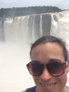 Me at Iguazu Falls, Argentina!