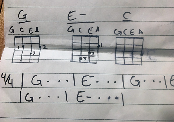 How Learning the Ukulele Helped Me Think About Presenting Information
